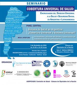 Cobertura universal de salud: Encrucijadas del derecho universal a la salud y seguridad social