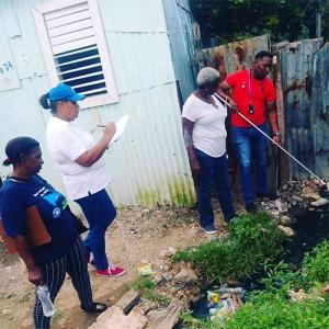 Redes de vigilancia entomológica sobre mosquitos en barrios de santo domingo
