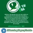 #AbortoseguroYa