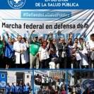 Médicos del Mundo dijo presente en marcha federal en defensa de la salud pública