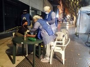 Salud en la calle frente a COVID-19 en la ciudad de Buenos Aires