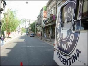 El móvil sanitario recorre Buenos Aires