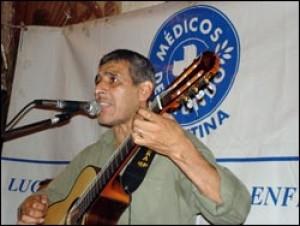 Peña Solidaria de Médicos del Mundo con Peteco Carabajal
