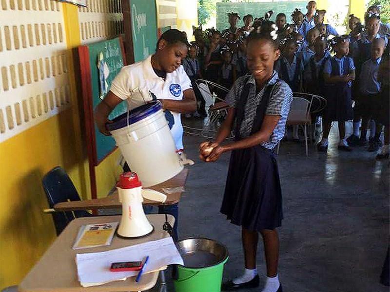Día Mundial del Lavado de Manos en Haití