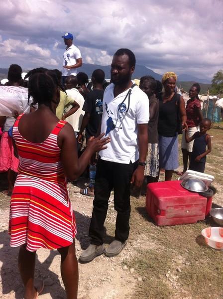 Haití - Médicos del Mundo Trabaja en campamentos desplazados en comunas del sur de Haití